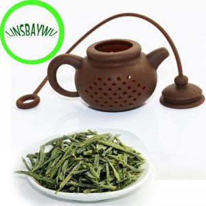 2017 High Quality Creative Silicone Tea Bag Tea Pot Shape Tea Filter Safely Cleaning Infuser 1pcs
