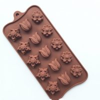 Brand New Tulip Flower Shaped Chocolate