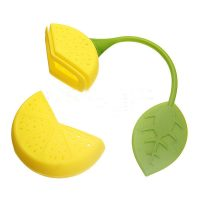 Tea Strainer Silicone 2015 Strawberry Lemon