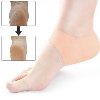 Gel Feet Heel Protector Socks Anti-Cracking