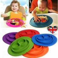 Table Mat Baby Silicone Plate