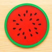 Modern Fruit Coaster Colorful