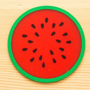Modern Fruit Coaster Colorful