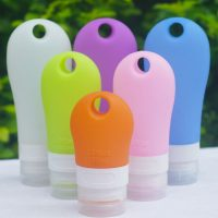 38ml 60ml 90ml Portable Mini Silicone Bottle