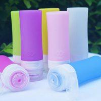 Bottles Silicone Skin Care Lotion Shampoo Gel