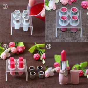 Lipstick DIY Mould Lip Balm Mold Silicone