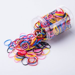Rubber Hairband Rope Silicone Ponytail Holder