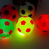 Luminous Football Pet Dog Cat Toy Silicone
