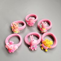 peppa hair ties rubber band