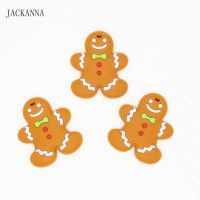 Silicone Gingerbread Man Cookies Teethers