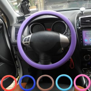 jingyuqin Universal Car Steering Wheel Covers