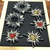 rhinestone beaded Patches for clothes DIY