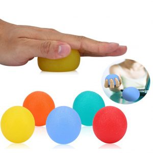 Silicone Grip Ball Hand Finger Strength
