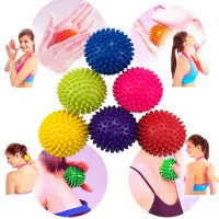 Silicone YogaFitness Ball Spiky Trigger