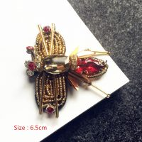 animal beaded applique 3D bee Sew