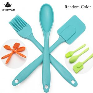 Silicone Spatula Spoon Brush Kitchen