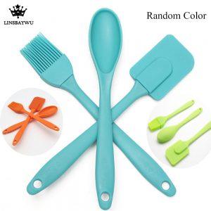 Silicone Spatula Spoon Brush Kitchen