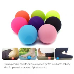 Massage Ball 100% Silicone Lacrosse Ball