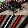 High end Red Black webbing Elastic