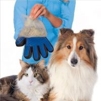 Silicone pet brush Glove Deshedding Gentle