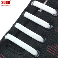 Shoes Accessories Elastic Silicone Shoelaces
