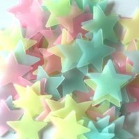 Bedroom Fluorescent Glow In The Dark Stars