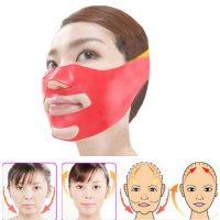 Silicone Thin Face Mask V-line Face Bandage Belt Slimming