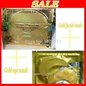 Gold Powder Collagen Facial/Eye Care Mask