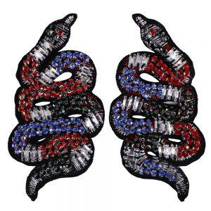 Crystal Rhinestones Snake