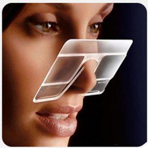 Fashion Ultra Light Rimless Mini Eyeglasses