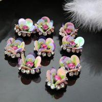beads Rhinestones brooch appliques