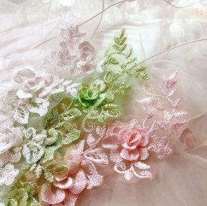 flower beads lace