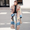 LVCHI Real Fox Fur Coats