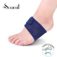 Elastic Silica Gel High Arch Orthotics Bandage for Heel